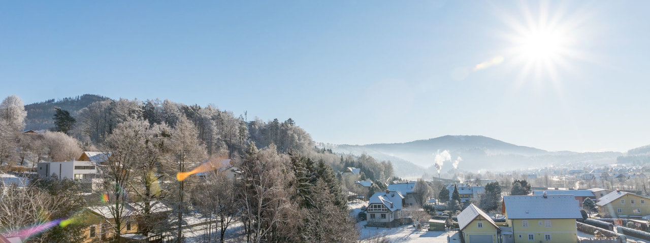 Winter in der Region